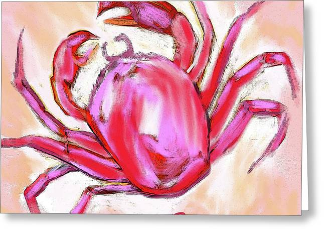 Cancer The Crab Greeting Card