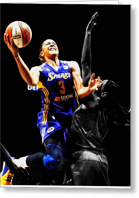 Candace Parker Greeting Card