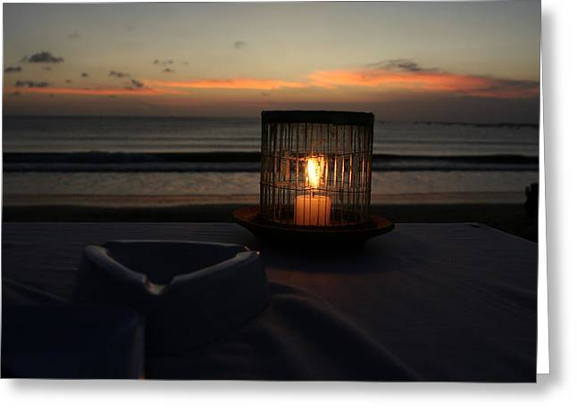 Candle Greeting Card by Eye Contact