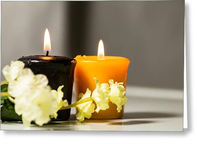 Candle Greeting Card by Hyuntae Kim