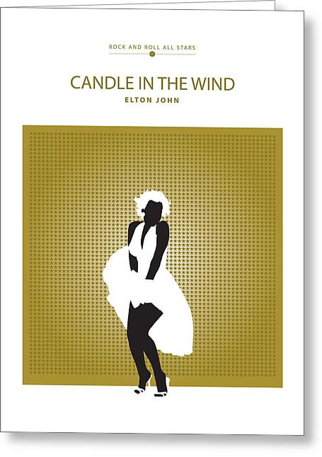 Candle In The Wind -- Elton John Greeting Card