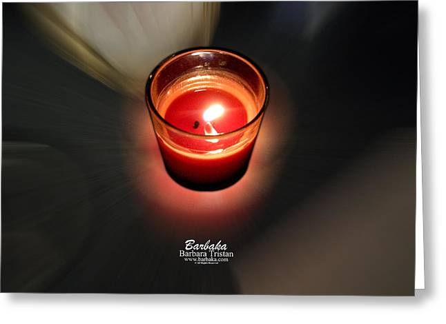 Candle Inspired #1173-3 Greeting Card