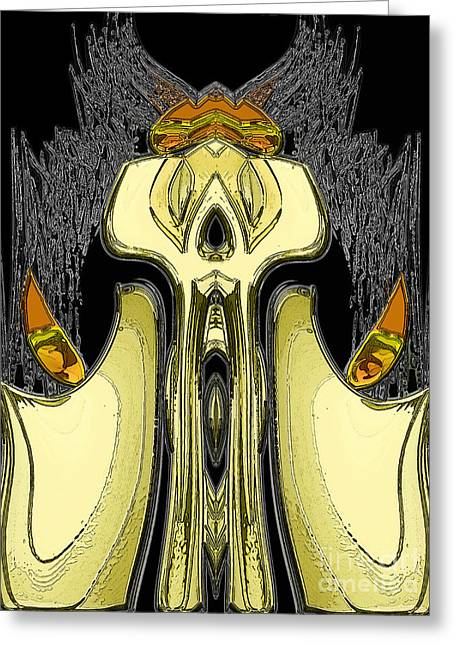 Candle Keep Greeting Card by Patrick Guidato