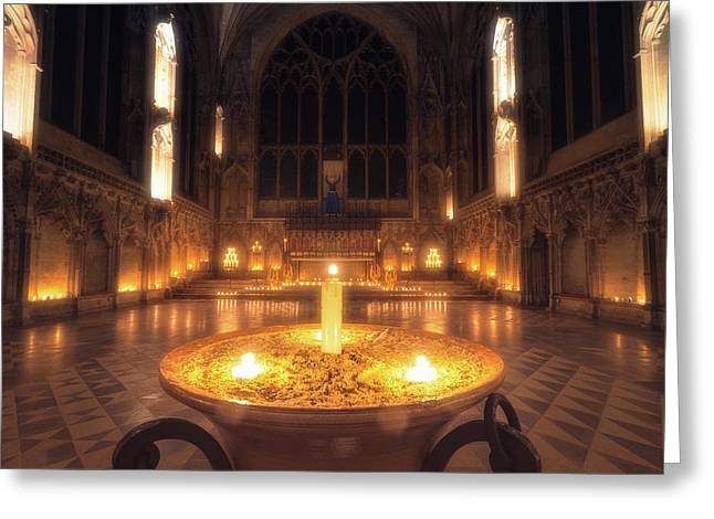 Candlemas - Lady Chapel Greeting Card