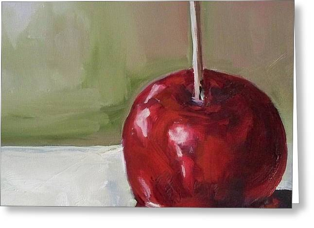 Candy Apple Greeting Card by Kristine Kainer