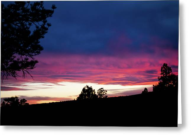 Greeting Card featuring the photograph Candy-coated Clouds by Jason Coward