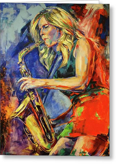 Candy Dulfer, Lily Was Here Greeting Card