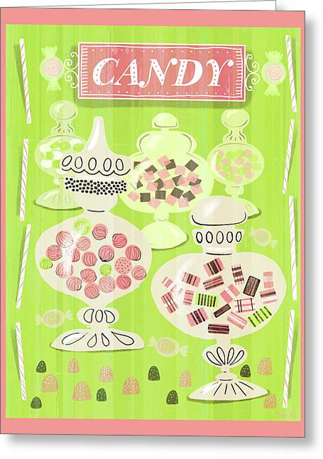 Candy Is Dandy Greeting Card