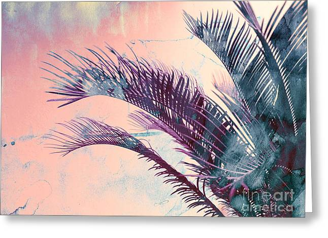 Candy Palms Greeting Card