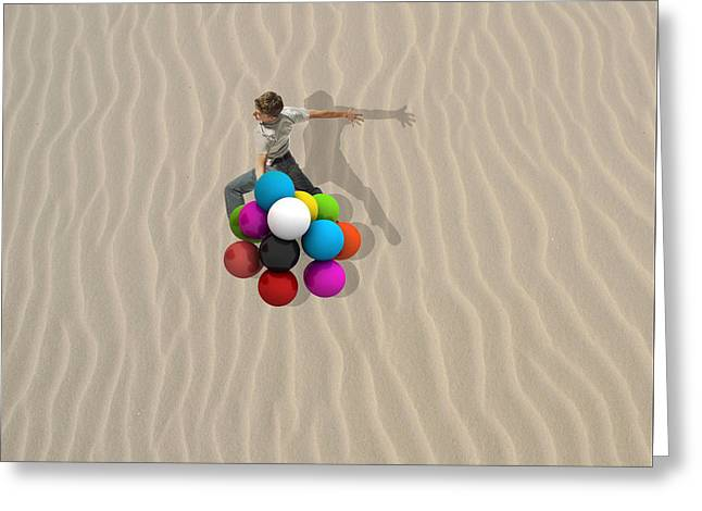 Candy Sand Greeting Card