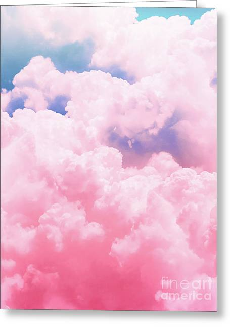 Candy Sky Greeting Card