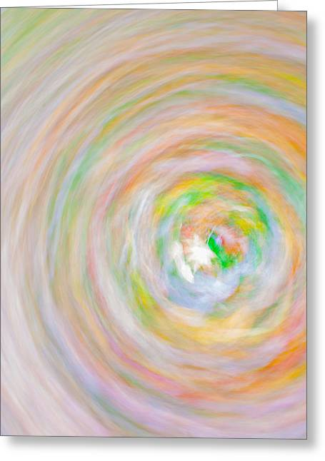 Candy Swirl Greeting Card by Claus Siebenhaar