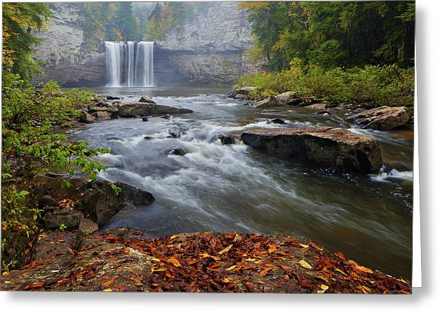 Cane Creek Falls Greeting Card