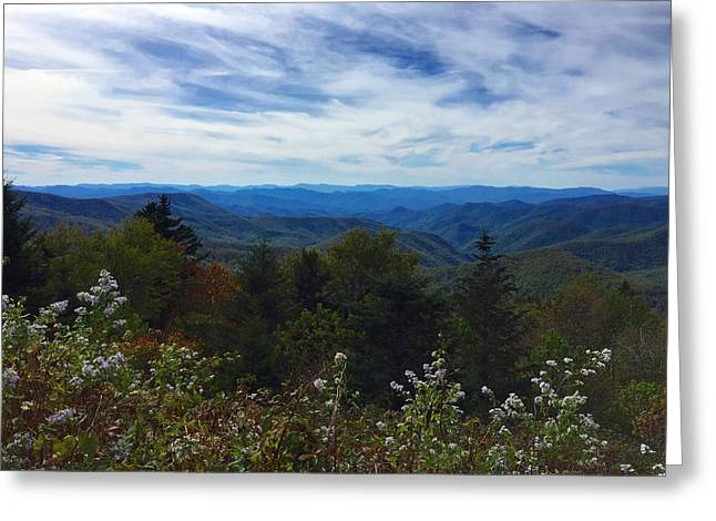 Caney Fork Overlook Greeting Card