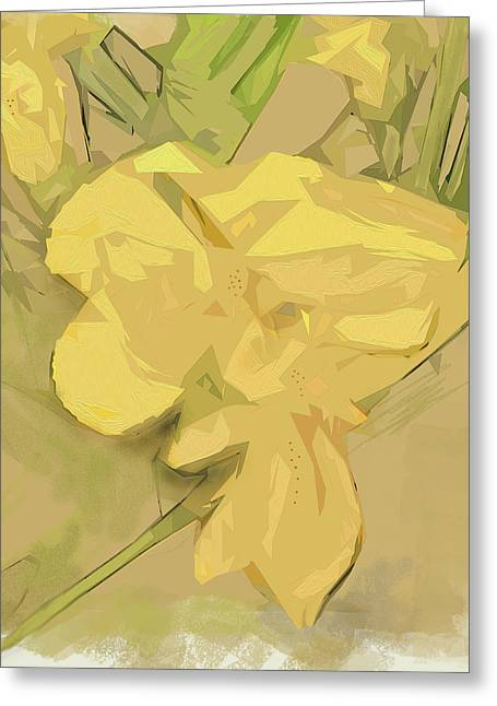 Greeting Card featuring the photograph Canna by Gina Harrison