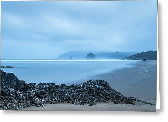 Cannon Beach Greeting Card by Joseph Smith