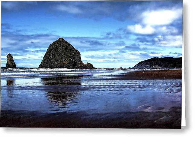 Lanscape Greeting Cards - Cannon Beach Oregon II Greeting Card by David Patterson