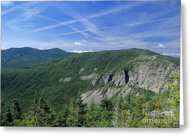 Ledge Photographs Greeting Cards - Cannon Mountain - White Mountains New Hampshire USA Greeting Card by Erin Paul Donovan