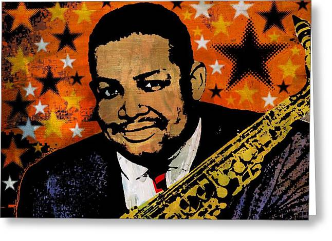 Cannonball Adderley Greeting Card
