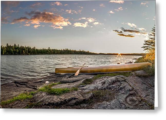 Canoe // Bwca, Minnesota  Greeting Card