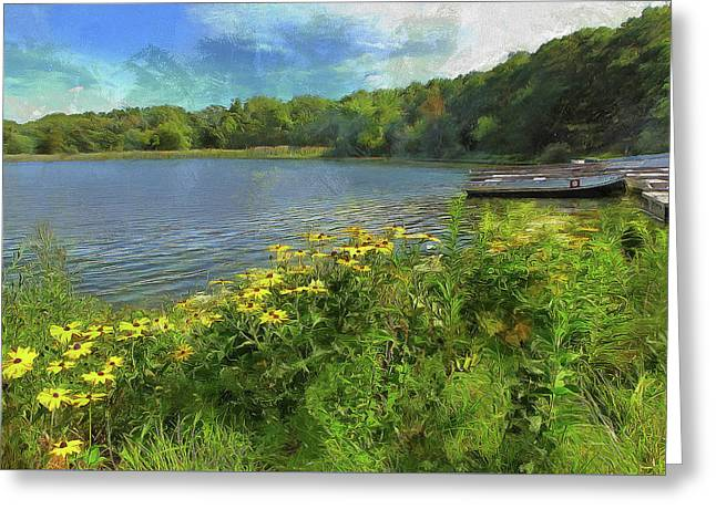 Canoe Number 9 Greeting Card