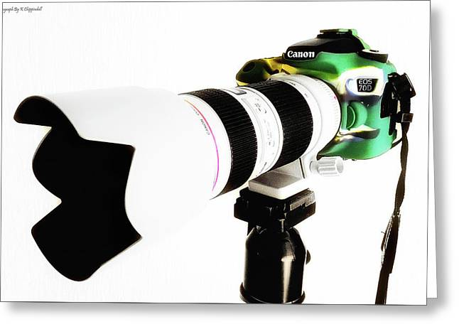 Canon 70d 01 Greeting Card by Kevin Chippindall