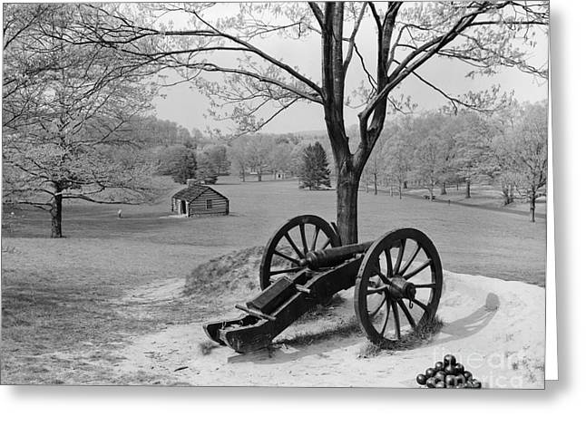 Canon At Valley Forge Greeting Card