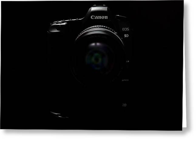 Canon Eos 5d Mark II Greeting Card by Rick Berk