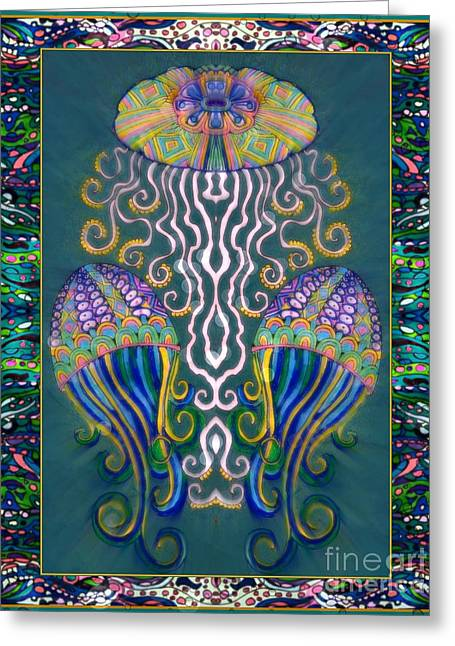 Canopy Under The Sea Greeting Card