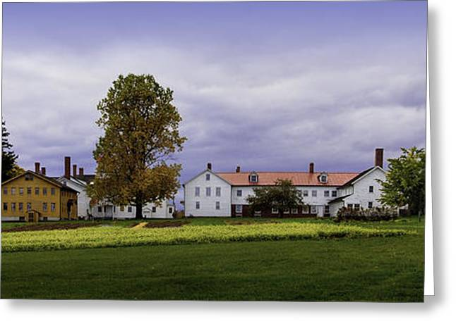 Canterbury Shaker Village Nh Greeting Card by Betty Denise