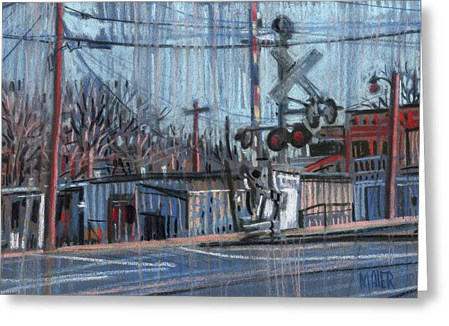 Canton At Sawyer Greeting Card by Donald Maier
