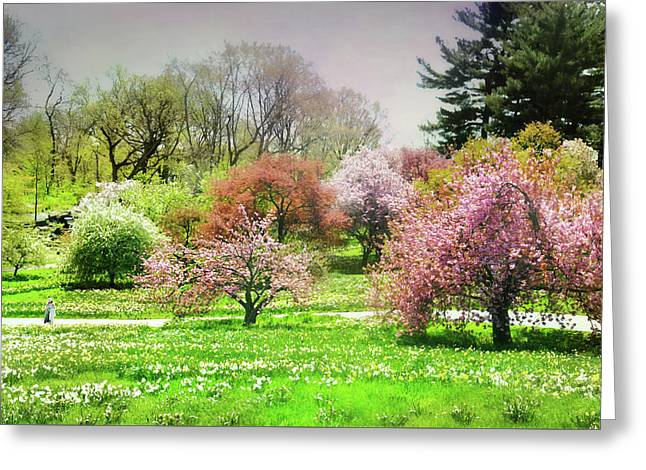Greeting Card featuring the photograph Garden Canvas  by Diana Angstadt
