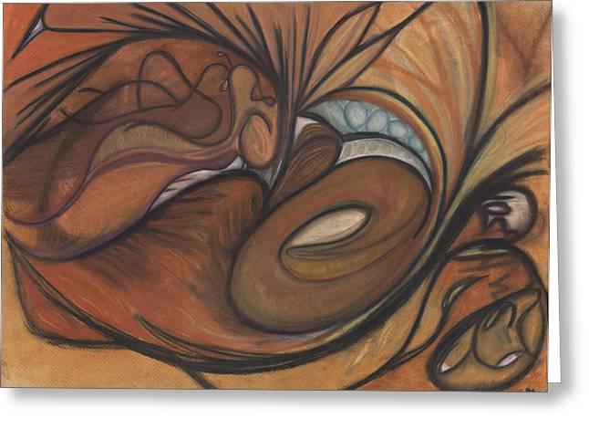 Canyon Dancer Greeting Card by Stu Hanson