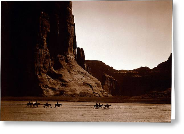 Canyon De Chelly 2c Navajo Greeting Card