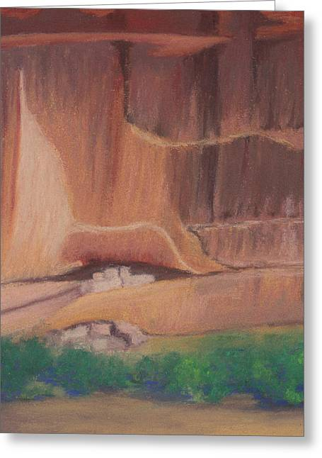 Canyon De Chelly Cliffdwellers #2 Greeting Card