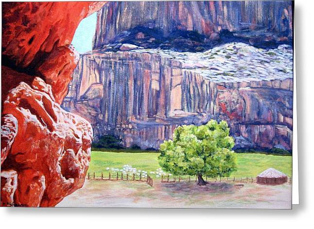 Canyon De Chelly Greeting Card