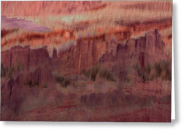 Canyon Dreaming Greeting Card