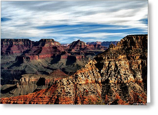 Canyon Grandeur Greeting Card