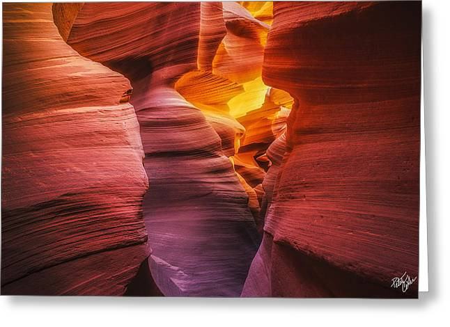 Canyon Incandescence  Greeting Card