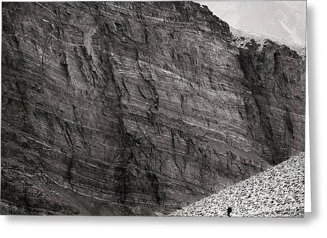 Canyon Nishgar Greeting Card by Konstantin Dikovsky
