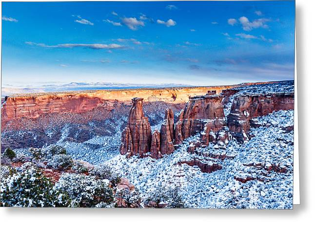 Canyon Of Colors Greeting Card