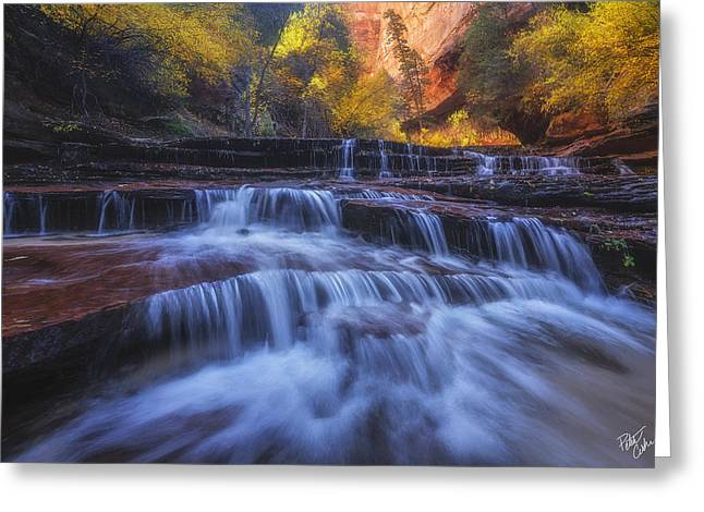 Canyon Paradise Greeting Card