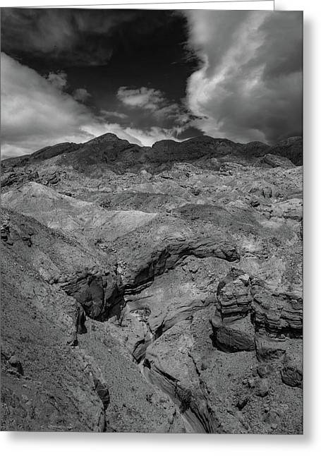 Canyon Relief Greeting Card