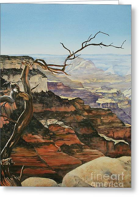 Canyon View Greeting Card