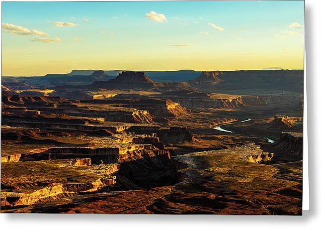 Canyonlands Golden Hour Greeting Card
