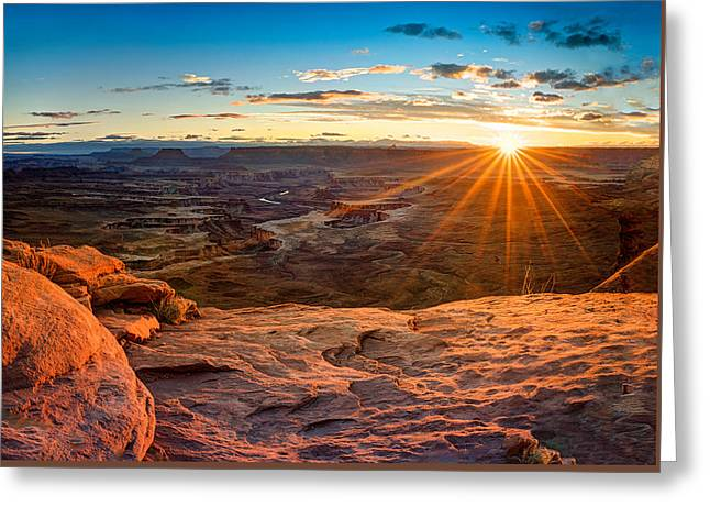 Canyonlands Sunset Greeting Card