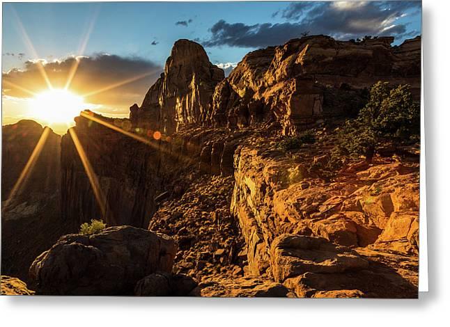 Canyonlands Sunset II Greeting Card