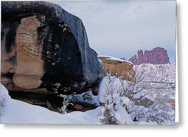 Canyonlands Swirl Greeting Card