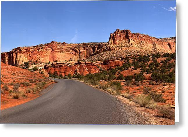 Canyons Ahead Greeting Card