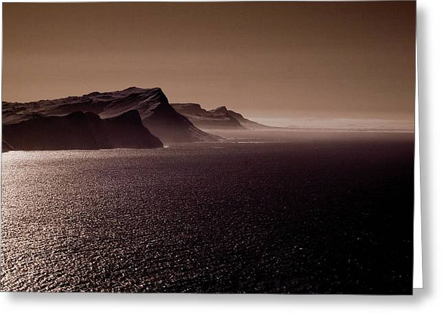 Cape Agulhas South Africa Greeting Card by G Wigler